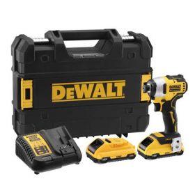 DEWALT ZAKRĘTARKA UDAROWA18V 2x3.0Ah XR DCF809L2T-QW