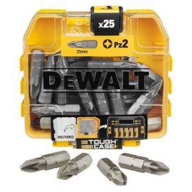 DEWALT KOŃCÓWKA PZ2x25mm/25szt. DT71521-QZ