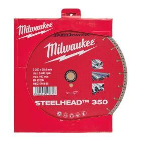 MILWAUKEE TARCZA DIAMENTOWA STEELHEAD 350mm 4932471988