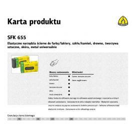 KLINGSPOR KOSTKA SZLIFIERSKA 80 x 50 x 20mm P120 SFK655   13802