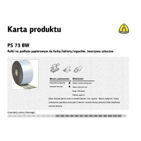 KLINGSPOR ROLKA NA PODŁOŻU PAPIEROWYM PS73BW 115mm gr.240  (50mb) 310785