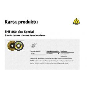 KLINGSPOR ŚCIERNICA LISTKOWA KOMBI SMT850 125mm COARSE 312559