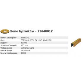 BOSTITCH ZSZYWKI S4/16NC 40mm 10.0M... 1164001Z