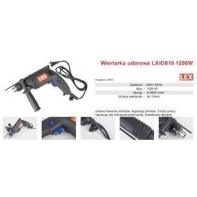 LEX WIERTARKA UDAROWA 1200W LXID810