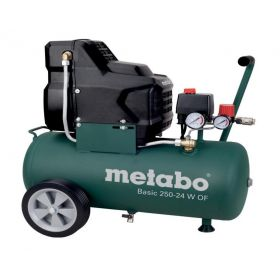 METABO SPRĘŻARKA BEZOLEJOWA 230V 24L BASIC 250-24 W OF 601532000