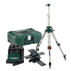 METABO LASER LINIOWY MLL 3-20 + STATYW + SUPORT KRZYŻOWY 690931000