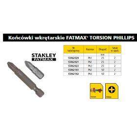 STANLEY KOŃCÓWKA PH2 x 50mm STA61161