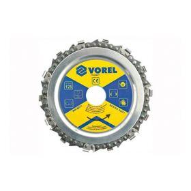 VOREL TARCZA ŁAŃCUCHOWA 230mm 08773