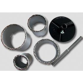 JOBI WYCINAK WOLFRAMOWY / OTWORNICA DO GLAZURY 6 - elem. 33-53-68-83mm 11808
