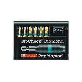 WERA BITY DIAMENTOWE + UCHWYT RAPIDATOR 8755-6 BDC BITY PZ 05056371001