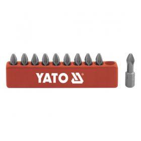 YATO KOMPLET BITÓW 10 szt. PH 2 x 25mm YT-0475
