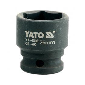 """YATO NASADKA UDAROWA 1/2"""" 26mm KRÓTKA YT-1016"""