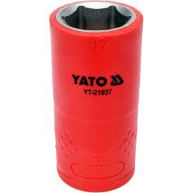 """YATO NASADKA IZOLOWANA 1/2""""*17mm 6-KĄT YT-21037"""