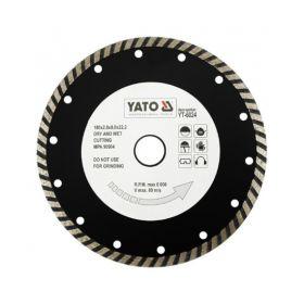 YATO TARCZA DIAMENTOWA TURBO 180 x 22,2mm    YT-6024