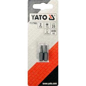 """YATO KOŃCÓWKA 1/4""""x25mm TORX T15 /2szt. YT-77903"""