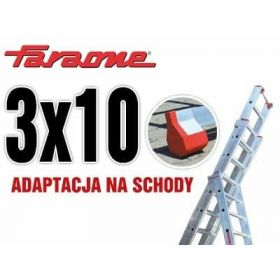 FARAONE DRABINA WIELOFUNKCUJNA 3x10 szcz ST300/3N