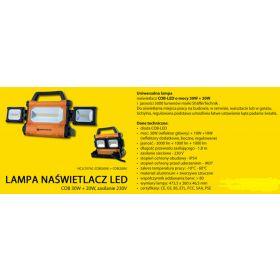 REFLEKTOR COB 30W + 2W 230V HCJL707AC-COB+COB