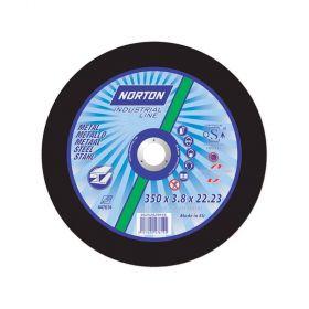 NORTON TARCZA NORLINE DO METALU 350mm x 4.0mm x 20mm -T41  A24T 66252829915