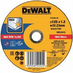 DEWALT TARCZA METAL 125x1,2mm DT43904-QZ