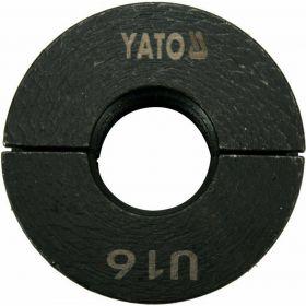 YATO MATRYCE ZAPASOWE DO ZACISKARKI DO RUR PEX-AL-PEX YT-21750 TYP U 16MM YT-21755