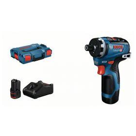 BOSCH WKRĘTARKA GSR 12V-35 HX 35/20 Nm 2x3,0Ah  LBOXX 06019J9100