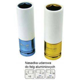 "ADLER NASADKA DO FELG ALUMINIOWYCH 1/2"" 19mm MAR3511.19"