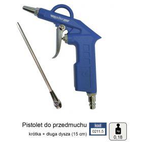ADLER PISTOLET DO PRZEDMUCHIWANIA 2cm+15cm MAR0211.5