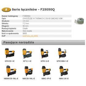 BOSTITCH GWOŹDZIE F 2,50 x 50mm 9900szt. F25050Q