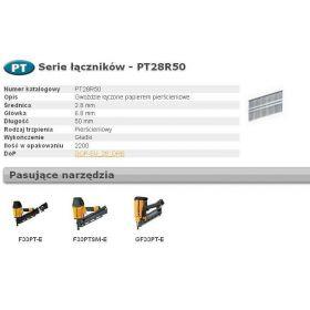 BOSTITCH GWOŹDZIE F 2,50 x 60mm RING 9000szt  F250R60Q