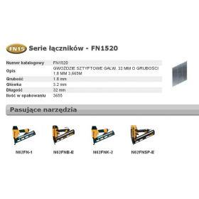 BOSTITCH SZTYFTY FN1520 25` 32mm 3600 szt. FN1520