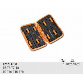 BETA WKRĘTAKI  PRECYZYJNE TORX KPL.8szt. 1257TX-S8