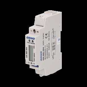 ORNO 1-FAZOWY WSKAŹNIK ZUŻYCIA ENERGII PORT RS-485, 80A OR-WE-504