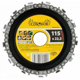 CONDOR TARCZA ŁAŃCUCHOWA DO DREWNA 115mm CON-TIT-1011
