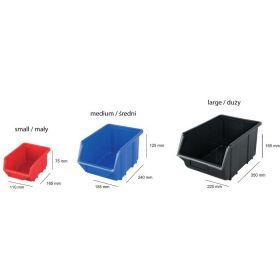 PATROL ECOBOX DUŻY NIEBIESKI 220x350x165mm ECODUZNIEPG001