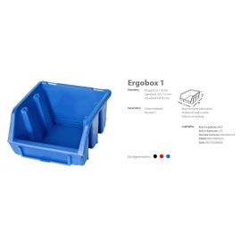 PATROL ERGOBOX 1 NIEBIESKI, 116 x 112 x 75mm ERG1NIEPG001