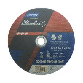 NORTON TARCZA STARLINE DO METALU 230mm x 2.0mm x 22.22mm -T41 A36R 66252837248