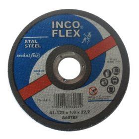INCOFLEX TARCZA DO CIECIA METALU 125 x 1,6 x 22,2mm M41-125-1.6-22A46T