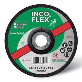 INCOFLEX TARCZA DO CIĘCIA KAMIENIA 125*2,5 M418-125-2.5-22C36