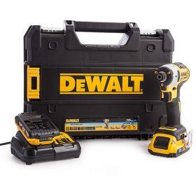 DEWALT ZAKRĘTARKA UDAROWA 18V 205Nm 3-BIEGI 2x2,0Ah BLUETOOTH DCF888D2B DCF888D2B-QW