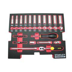"""STANLEY ZESTAW KLUCZY DO T-STACK 1/2"""" 20szt. FATMAX SFMHT0-74297"""