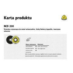 KLINGSPOR ŚCIERNICA CZYSZCZĄCA 115mm  NCD 200 259043