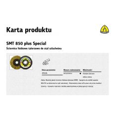 KLINGSPOR ŚCIERNICA LISTKOWA KOMBI SMT850 125mm VERY FINE 312561
