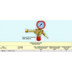 FACHOWIEC REDUKTOR PROPAN (LPG) RED112