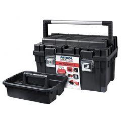 PATROL SKRZYNKA NARZĘDZIOWA HD TROPHY 1 CZARNA 595x345x355mm SKRT1HDCZAPG001