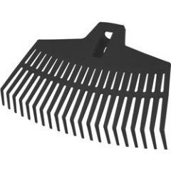 FLO GRABIE WACHLARZOWE PP 390mm, 21 ZĘBÓW  35798