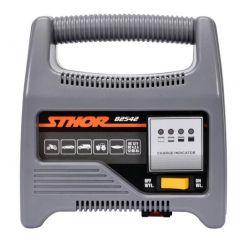 STHOR PROSTOWNIK 12V 6A 90Ah LED 82542