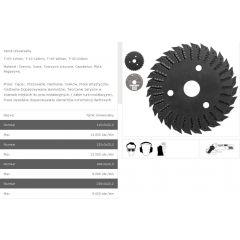TARPOL TARNIK UNIWERSALNY FI = 125mm x 3 x 22,2mm  T-13 TT13