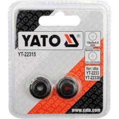 YATO KÓŁKO DO OBCINAKA DO RUR 18x4x4,8mm 2 szt. (do YT-22338) YT-22315