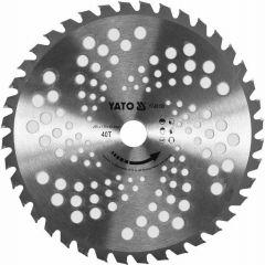 YATO TARCZA TCT DO PODKASZAREK 255mm 25,4mm YT-85150