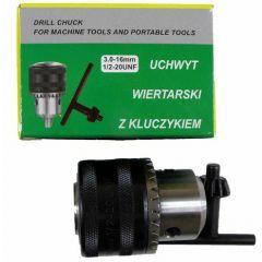 SILVER GŁÓWKA WIERTARKI 16mm-1/2-KLUCZYK  SV007